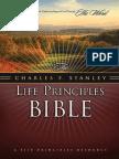 The Charles F Stanley Life Principles Bible, NASB