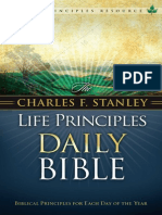 The Charles F. Stanley Life Principles Daily Bible