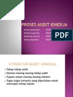 Proses Audit Kinerja