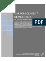 Corporaciones y Democracia