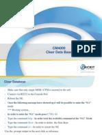 06 - Clear Data Base