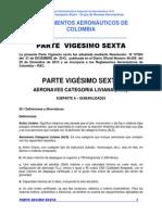 PARTE  VIGESIMO SEXTA - Aeronaves de Categoría Liviana (ALS)