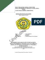 Laporan PSG Cahya Budiman 2013 ( SMKN 1 Purwakarta)