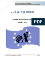 Lighthouse - European New Car Registrations - 2014 - Januar