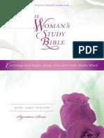 Woman's Study Bible, KJV