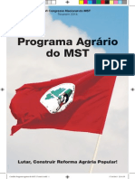 Cartilha Programa agrário do MST