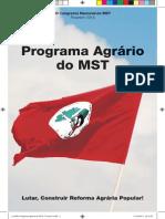 Cartilha Programa agrário do MST