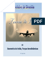 PPTVA03 - Geometria Do Aviao Forcas Aerodinamicas