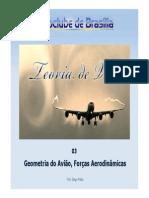 PPTVA03 - Geometria Do Aviao Forcas Aerodinamicas