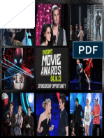 2013 MTV Movie Awards Sponsorship New Sponsor