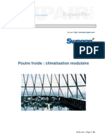 SWEGON-Poutre Froide Climatisation Modulaire