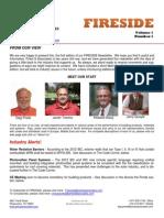 Fireside Newsletter Vol 1 No 1
