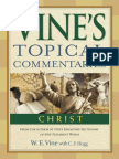 Vine's Topical Commentaries:Christ