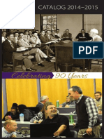 Dallas Theological Seminary 2014-2015 Catalog