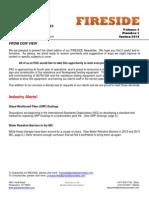 Fireside Newsletter Vol 2 No 1