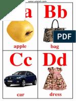 Free English Alphabet Cards
