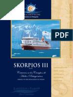 Cruceros Skorpios III. Cruceros a los Campos de Hielos Patagónicos