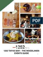 1252 tapas bar events guide 2014