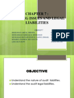Chapter 7 Audit & Assurance