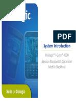 01 IGSB System Introduction