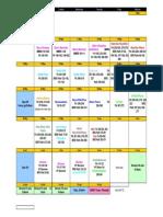 Study Schedule Rev2