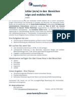 Softwareentwickler (m/w) für Responsive Design und mobiles Web gesucht