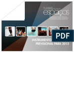 Instrumentos Gestão Previsional 2013