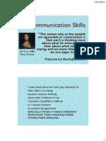 6. Communication Skills-I