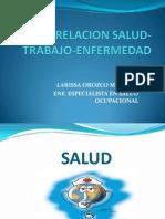 Relacion Salud-trabajo-Enfermedad. Tema i