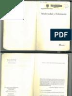Zygmunt Bauman, Modernidad y Holocausto, capitulo 6- La ética de la obediencia (lectura de Milgram)