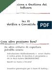 progettazione e gestione del software