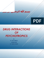 Psychotropic Drug Interactions