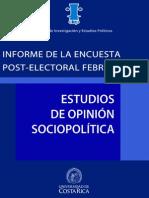 CIEP Post-electoral febrero 2014
