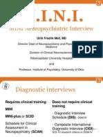 Malt MINI Neuropsychiatric Interview