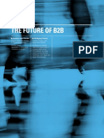 The Future of B2B | By Zachary Jean Paradis, Wolfgang Steiner