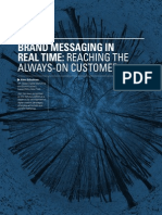 Brand Messaging in Real time