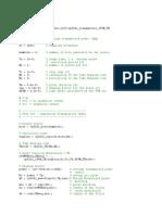 My Matlab Code for Random Filter Uwb