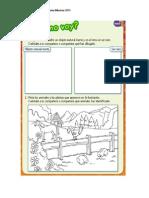 Guía de trabajo Ciencias Naturales 1° Básico