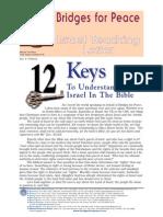12 Keys to Understanding Israel In the Bible  Part 1