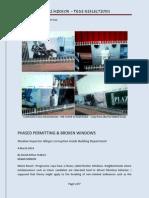 Phased Permitting & Broken Windows