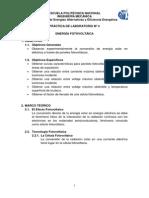Práctica 4- Energía Fotovoltáica