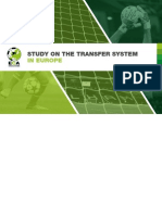 ECA, Study on Transfer System in Europe (2014)
