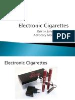 E-Cigarettes--Advocacy