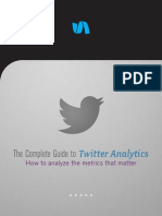 Complete Guide to Twitter Analytics