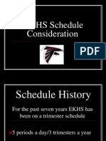 ekhs schedule considerationmodifiedforparentmeeting