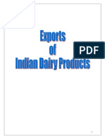 Indian Dairy Products- A Profile