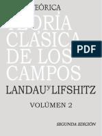 L. D. Landau, E.M. Lifshitz Teoría Clásica De Los Campos Vol 2    2008.pdf
