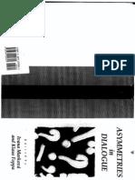 Marková, I & Foppa, K. - Asymmetries in Dialogue