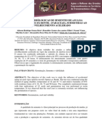 RESPOSTA FISIÓLOGICAS DE SEMENTES DE APULEIA MOLARIS SPRUCE EX BENTH. (FABACEAE), SUBMETIDAS AO ENVELHECIMENTO ACELERADO