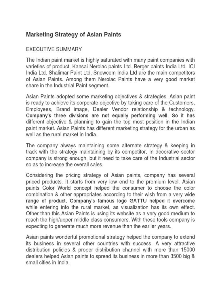 asian paints market share